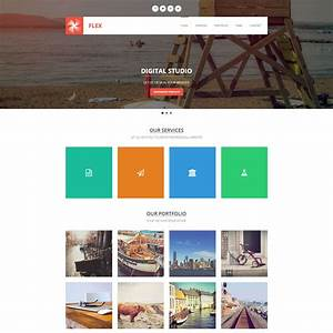 Template 406 flex for Photo gallery html template free download