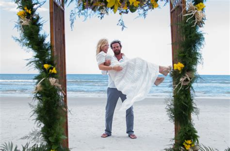 Kelli Giddish & Lawrence Faulborn Beach Wedding 6/20/15   Beach Weddings in New Smyrna Beach, FL