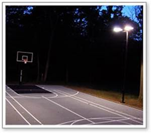 maryland components basketball courts net systems With outdoor lighting for home basketball court