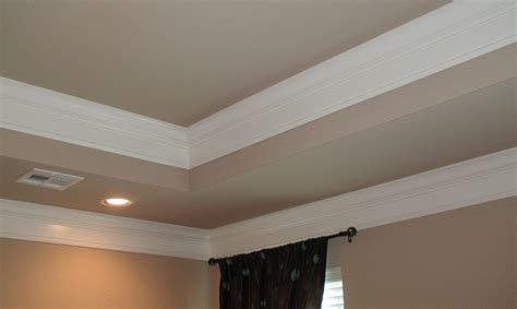 Tray Ceiling Trim Ideas by Parade Of Homes Simply Rooms By Design