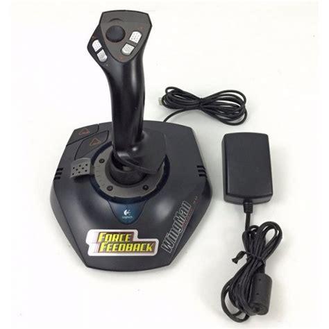 logitech wingman force feedback joystick driver