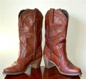 womens boots vintage vintage 1980s womens cowboy boots size 11n