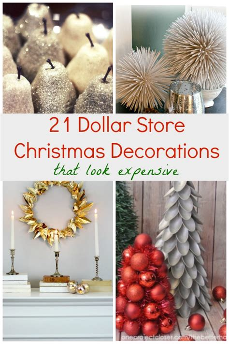 dollar store christmas decorations   expensive