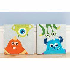 monsters inc themed letters ethan39s birthday pinterest With babies r us wall letters