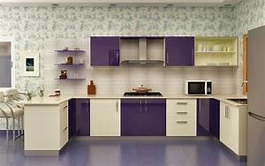 beautiful modular kitchen designs hd9f17 tjihome With best brand of paint for kitchen cabinets with art deco wall painting designs