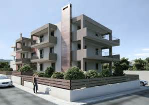 Small Modern Apartment Building Designs