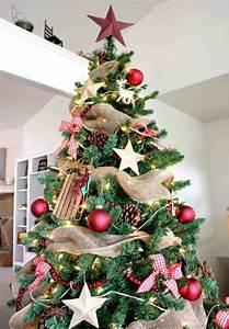 Schleifen Für Weihnachtsbaum : wundersch ne ideen f r weihnachtsbaum deko ~ Whattoseeinmadrid.com Haus und Dekorationen