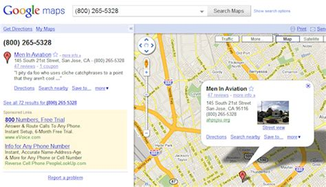 find location of phone number on map look up business phone numbers in maps cbs news