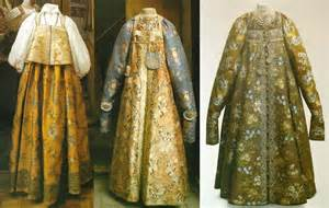 Russian Clothing History