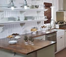 White Country Kitchen Design Ideas by Decorating With A Country Cottage Theme