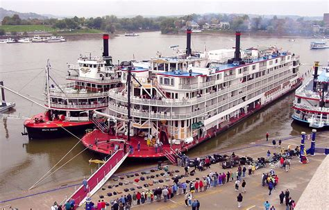 Boat World Usa by Mississippi Steamboat