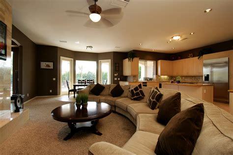 Home Designs Modern Spanish Style Design A Brown Carpet