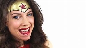 Wonder Woman Makeup Tutorial  How to Make Superhero Headpiece