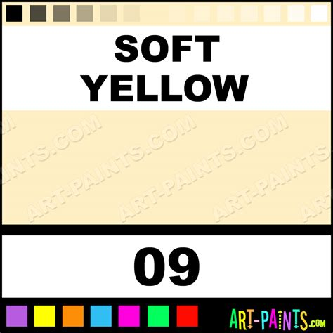 Soft Yellow Colour Powder Body Face Paints  09 Soft