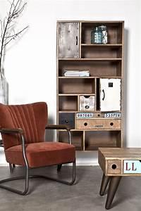 Möbel Im Industriedesign : schrank b cherregal im industriedesign m bel design regal massivholz b cherregal ~ Orissabook.com Haus und Dekorationen