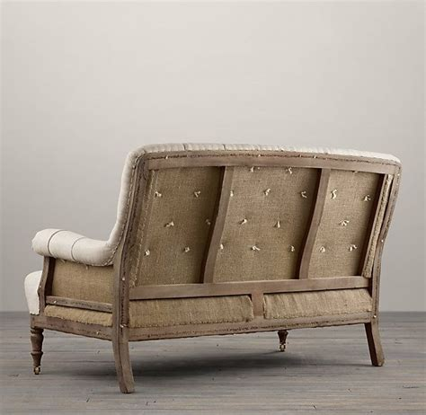Restoration Hardware Settee by Deconstructed Settee In 2019 Home Sweet