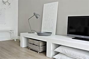 Anbauwand über Eck : die besten 25 tv wand ber eck ideen auf pinterest ~ Markanthonyermac.com Haus und Dekorationen