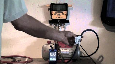 Vacuum Pump Working Youtube