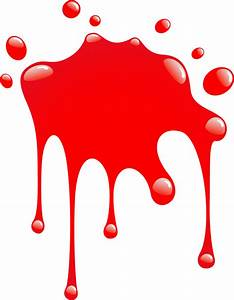 Red Paint Splatter - ClipArt Best