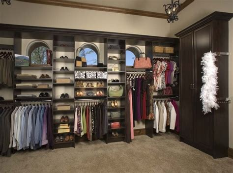 large his and hers walk in contemporary closet