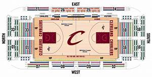 seating charts quicken loans arena official website With cavs floor seats