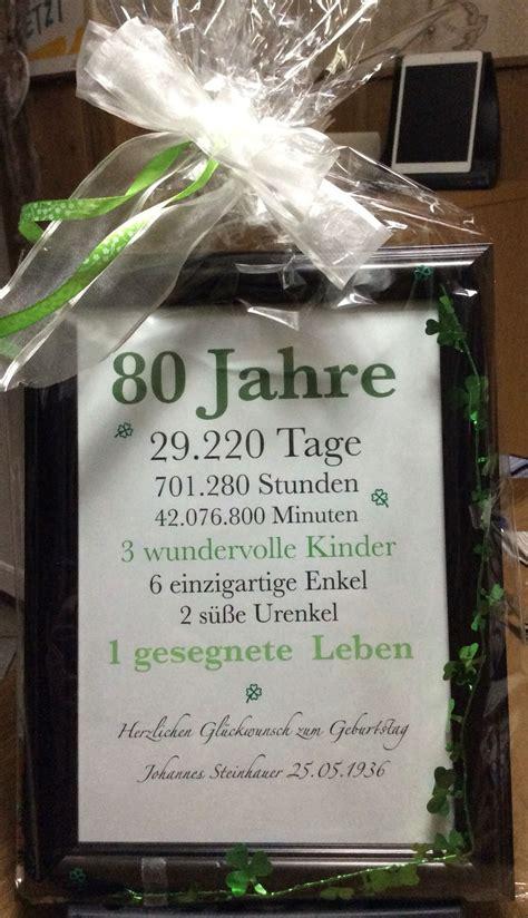 besinnliches zum 80 geburtstag geschenk zum 80 geburtstag 80 birthday ideas 80 geburtstag geschenke 70 geburtstag