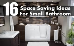 space saving bathroom ideas 16 brilliant space saving ideas for small bathroom diy home creative ideas for home