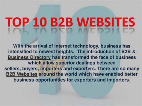 best b2b websites best top 10 b2b websites
