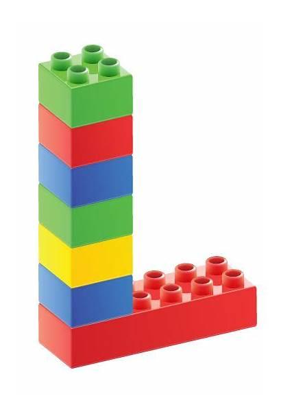 Lego Letras Letters Alfabeto Duplo Legos Letra