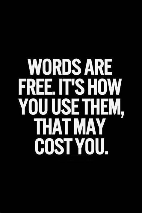 Word Quotes Words Are Powerful Always Be Careful When You Use
