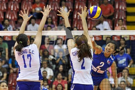 philippine womens volleyball squad drawn  play