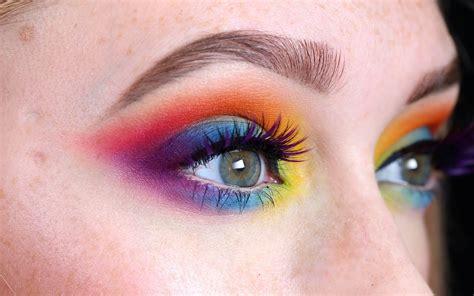colorful makeup 5 colourful makeup looks for pride season