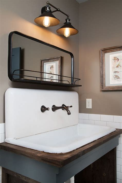 Farm Style Bathroom Sink by 38 Vintage Farmhouse Sink Cabinet Sink Kitchenette