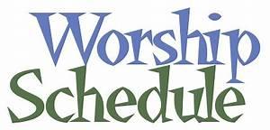 Bethel lutheran church worship schedule for Worship schedule template
