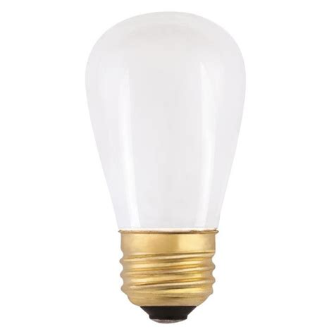 s14 light bulbs westinghouse s14 11 watt medium base incandescent l