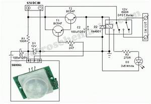 Wiring Diagram For Pir Sensor