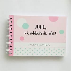 Mein Erstes Baby : baby erinnerungsbuch mein erstes jahr rosa die alpenk nigin ~ Frokenaadalensverden.com Haus und Dekorationen