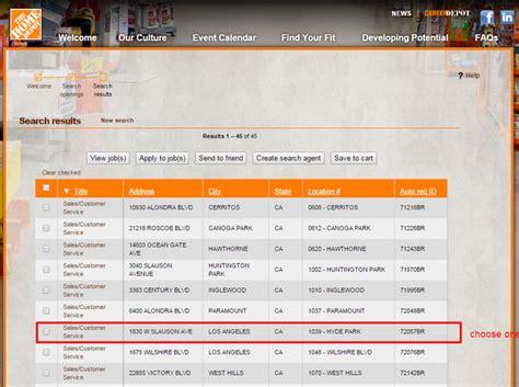 Home Depot Online : My Apron The Home Depot Application Login