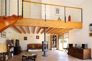 Faire Une Mezzanine : le garde corps mezzanine jolies id es pour lofts avec ~ Melissatoandfro.com Idées de Décoration
