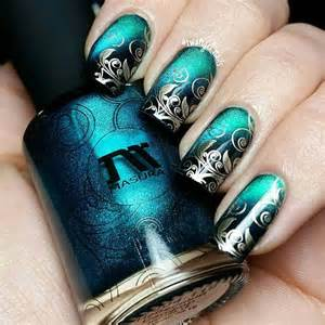 Best ideas about stamping nail art on