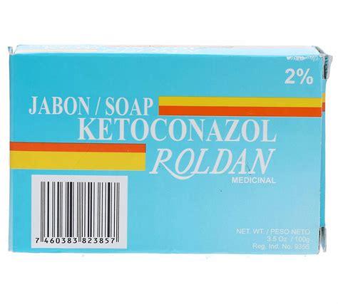 farmaconal roldan jabon ketoconazol