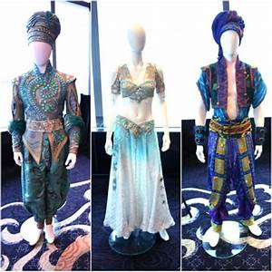 Aladdin on Broadway, costumes on display. Costume designer ...
