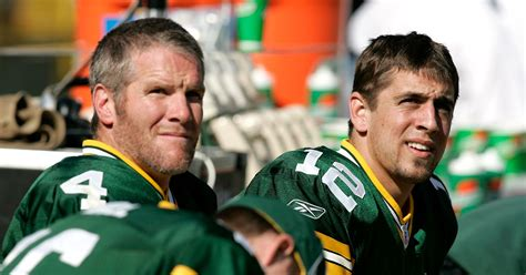 Aaron Rodgers And Brett Favre Discuss Strategy For Packers