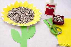 4 Sunflower Crafts For Kids  U2013 Sheknows