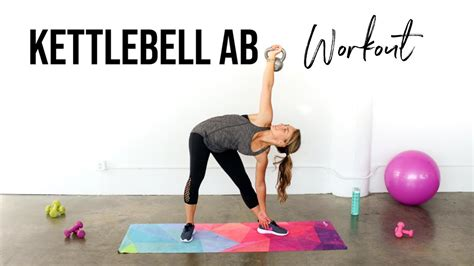kettlebell exercises abs workout ab