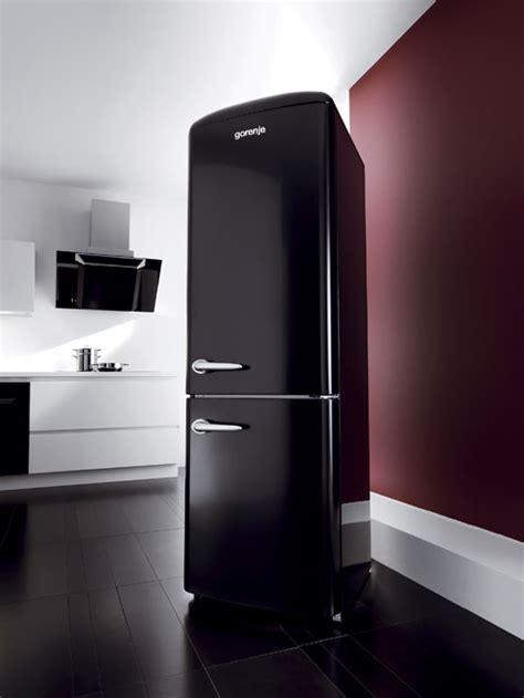 contemporary retro refrigerator  gorenje digsdigs