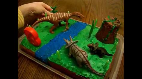 dinosaur cake dino cake decorating idea tort