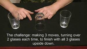 How to do magic. Simple magic trick with glasses. Magic ...