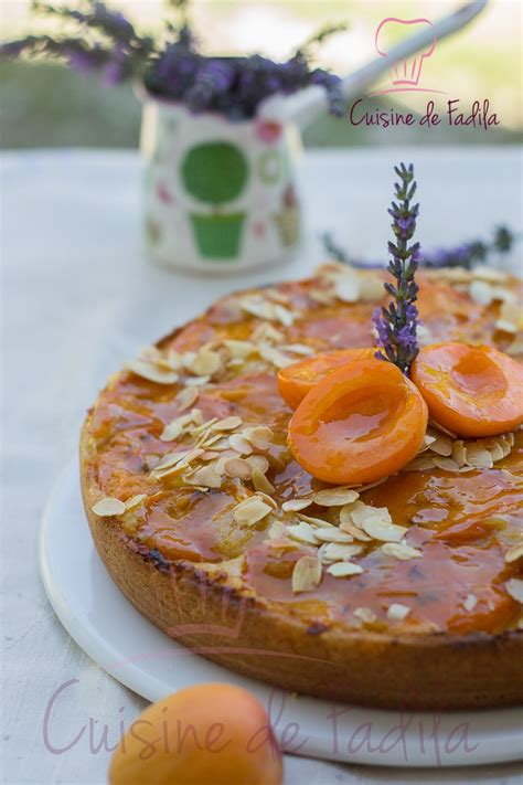 cuisine gateau gâteau aux abricots et à la lavande cuisine de fadila