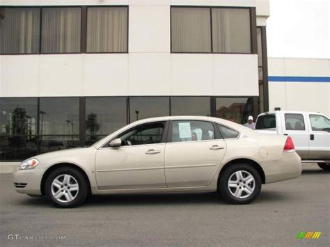 2008 gold mist metallic chevrolet impala ls 14554598